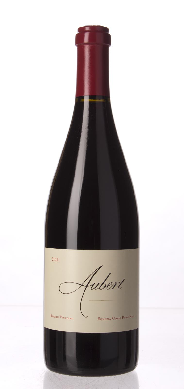 Aubert Pinot Noir Ritchie Vineyard 2011, 750mL (AG95, WA95) from The BPW - Merchants of rare and fine wines.