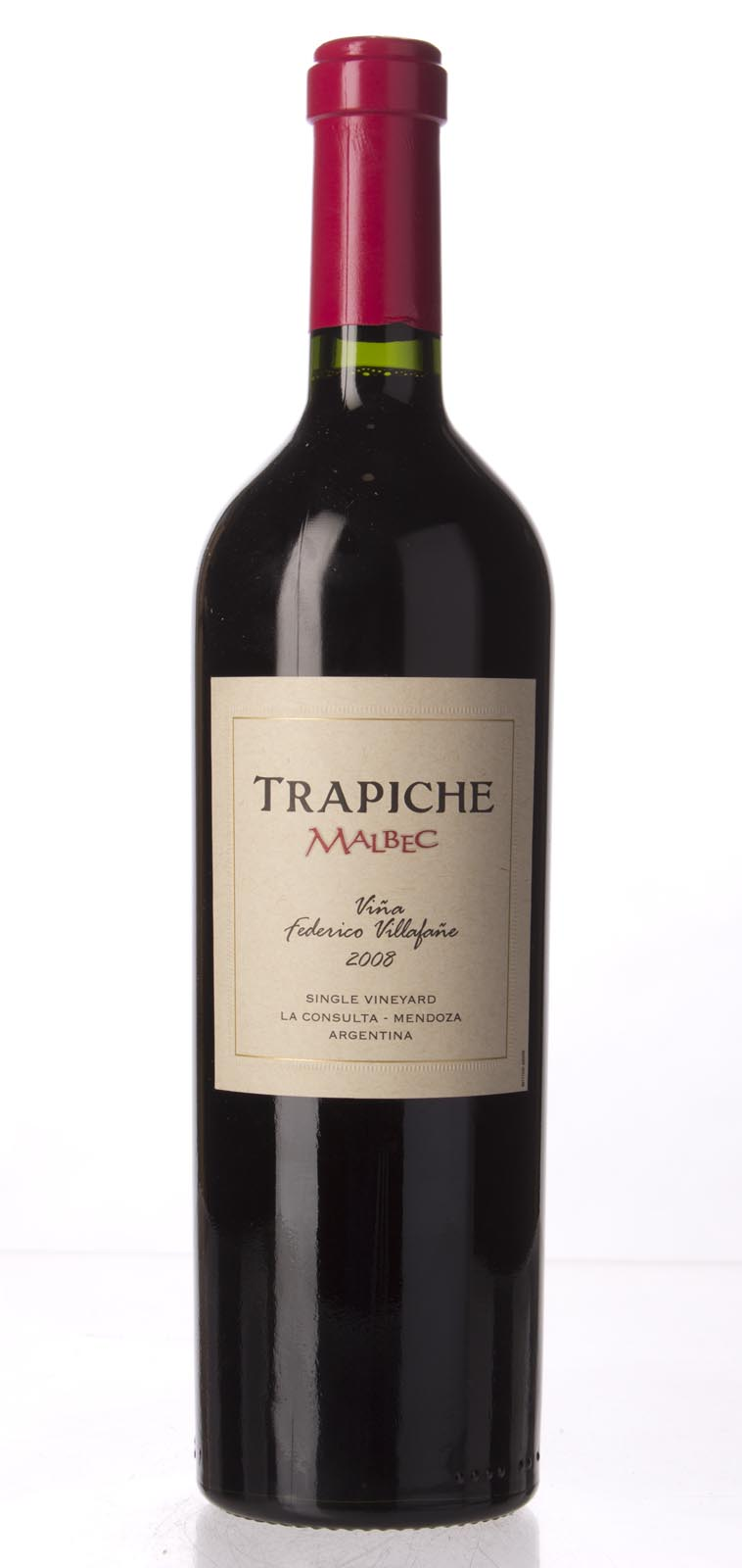 Bodegas Trapiche Malbec Vina Federico Villafane 2008,  (WA95) from The BPW - Merchants of rare and fine wines.