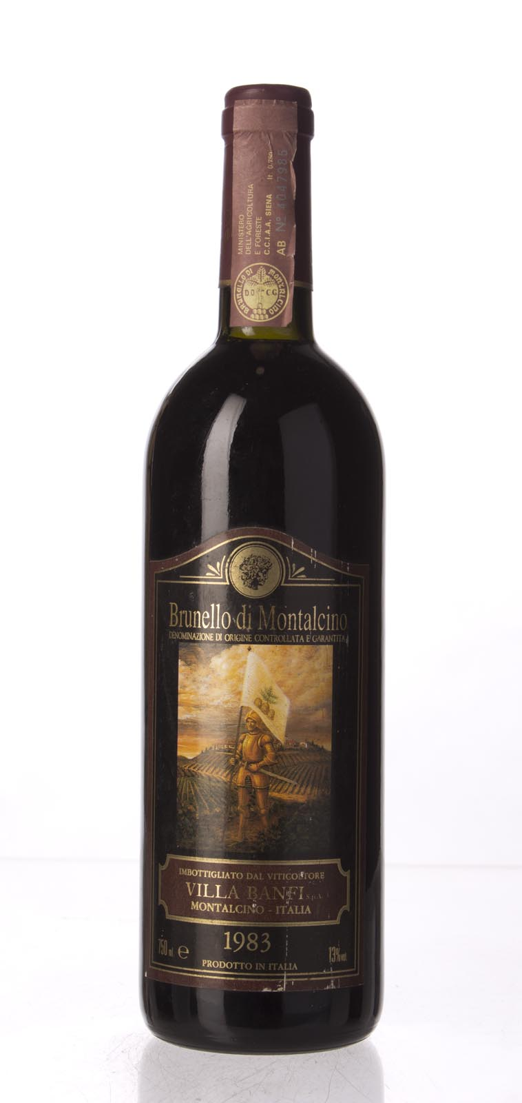Castello Banfi Brunello di Montalcino 1983, 750mL () from The BPW - Merchants of rare and fine wines.