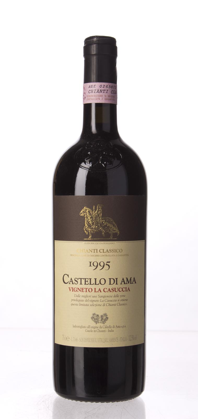 Castello di Ama Chianti Classico Vigneto la Casuccia 1995, 750mL () from The BPW - Merchants of rare and fine wines.