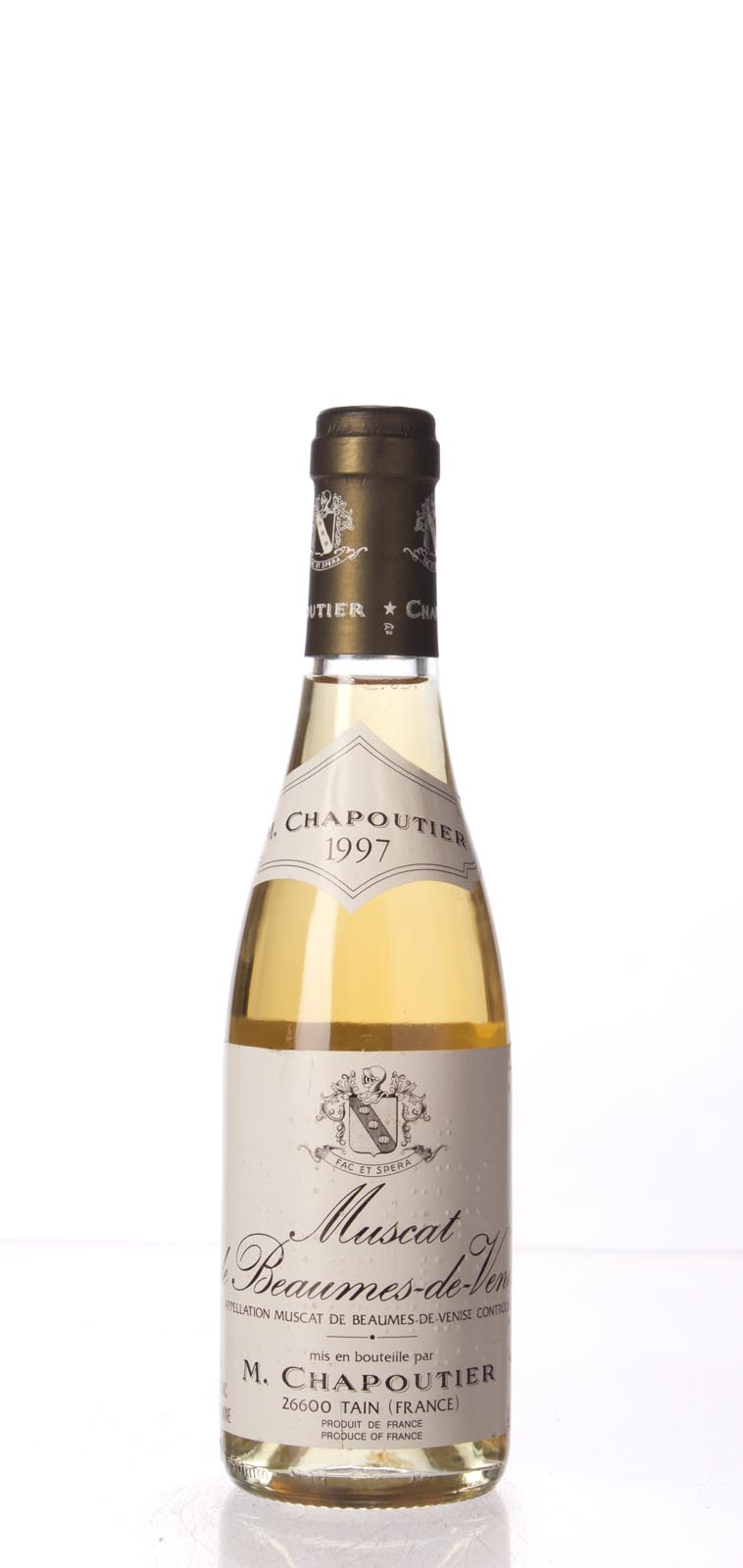 Chapoutier Muscat de Beaumes de Venise 1997, 375mL () from The BPW - Merchants of rare and fine wines.