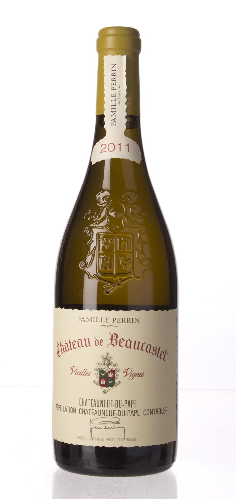 Chateau Beaucastel Chateauneuf du Pape Roussanne Vieilles Vignes 2011, 750mL (WA98, WS96) from The BPW - Merchants of rare and fine wines.