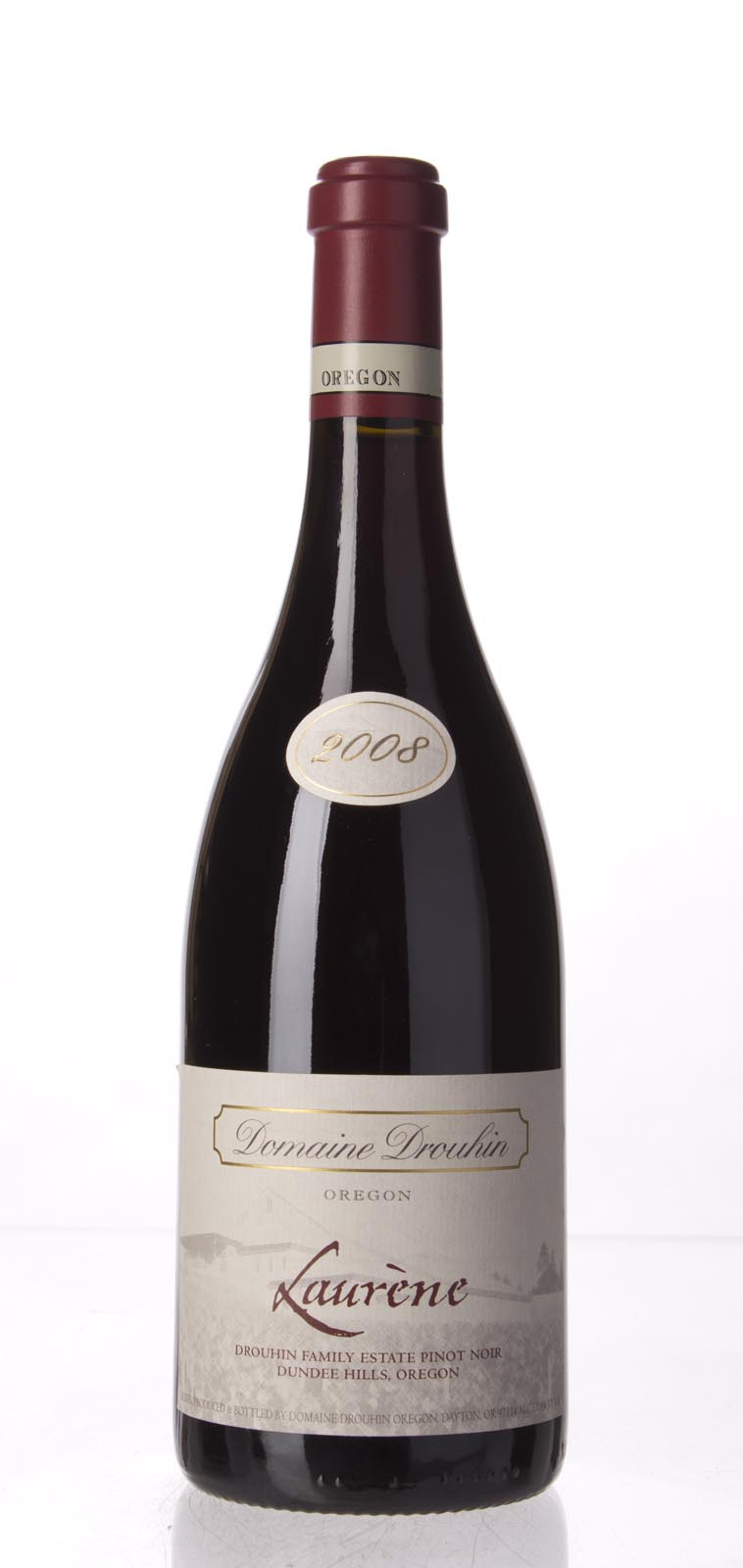 Domaine Drouhin Pinot Noir Laurene 2008, 750mL (BH92, WA92, ST93, WS91) from The BPW - Merchants of rare and fine wines.