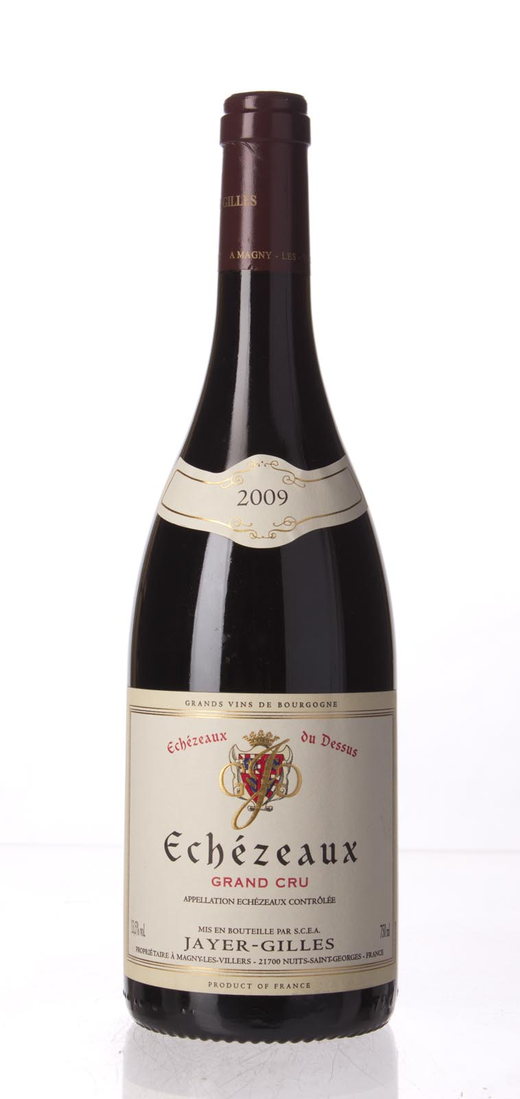 Domaine Robert Jayer Gilles Echezeaux du Dessus 2009, 750mL (BH92-95, WA94, ST92-95) from The BPW - Merchants of rare and fine wines.