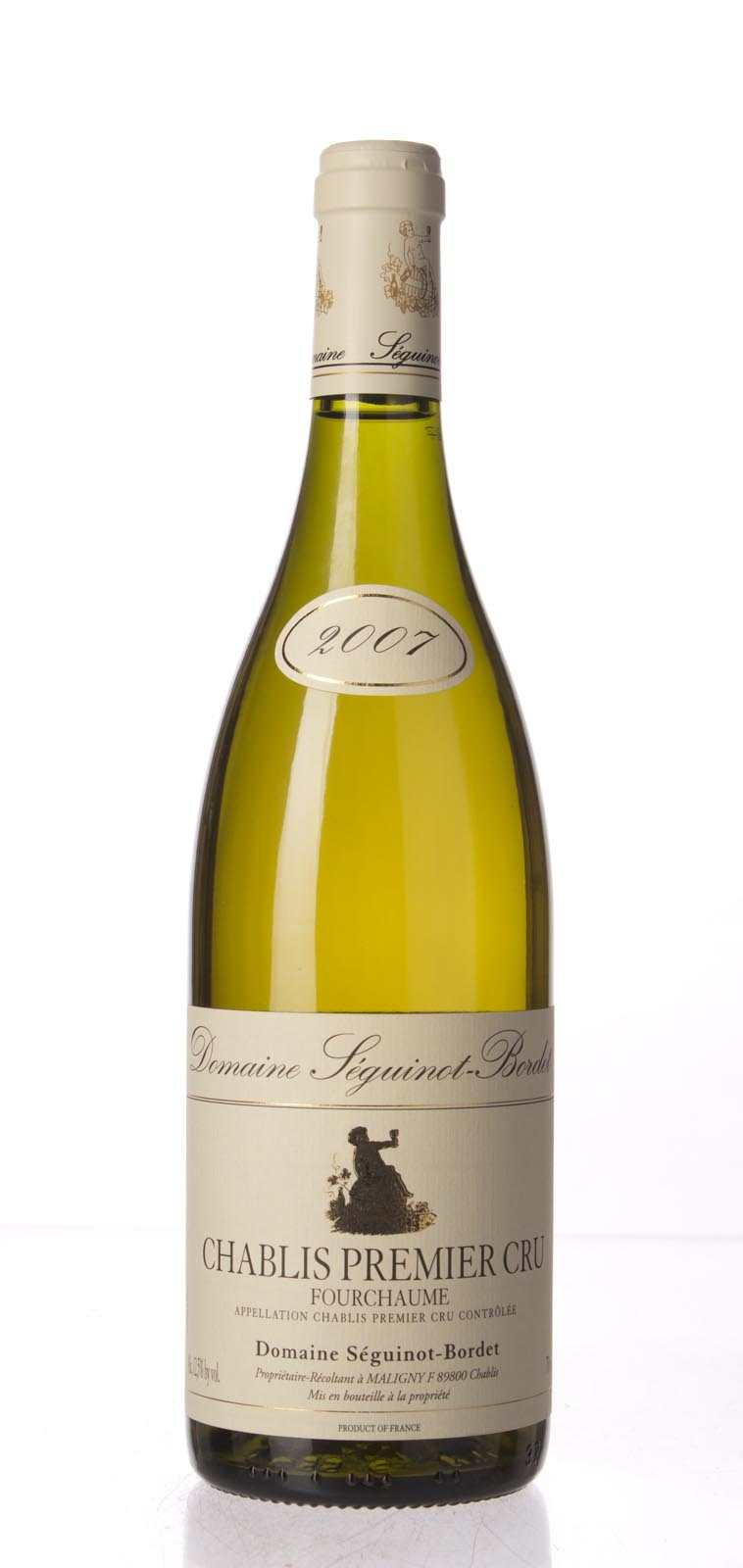 Domaine Seguinot Bordet Chablis Fourchaume 2007, 750mL () from The BPW - Merchants of rare and fine wines.