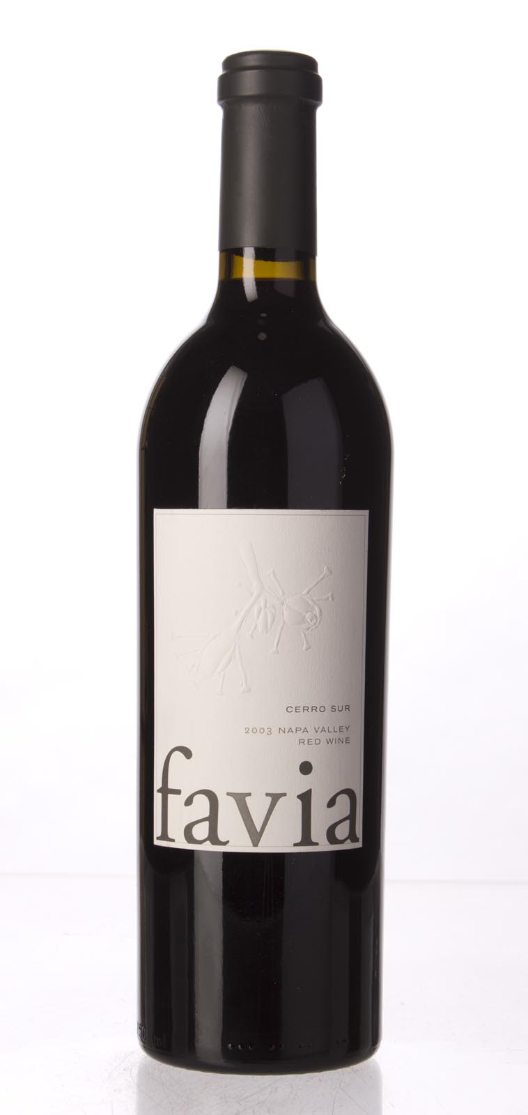 Favia Proprietary Red Cerro Sur 2003, 750mL (AG94, WA95) from The BPW - Merchants of rare and fine wines.