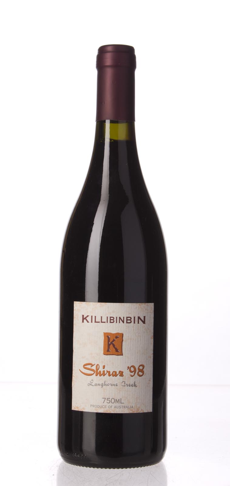 Killibinbin Shiraz Langhorne Creek 1998, 750mL (WA96) from The BPW - Merchants of rare and fine wines.