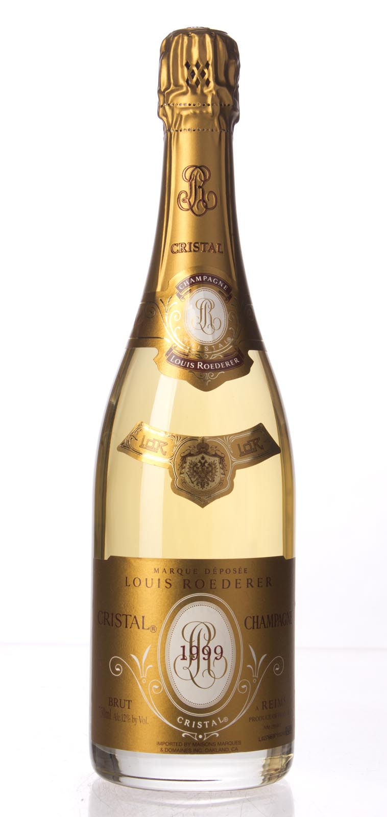 Louis Roederer Cristal 1999, 750mL (WA98) from The BPW - Merchants of rare and fine wines.