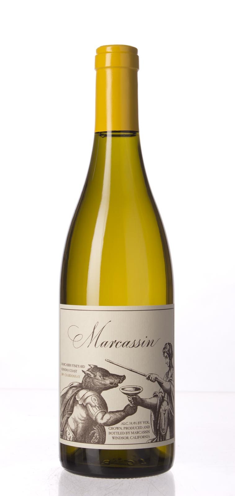 Marcassin Chardonnay Marcassin Vineyard 2009, 750mL (WA96) from The BPW - Merchants of rare and fine wines.