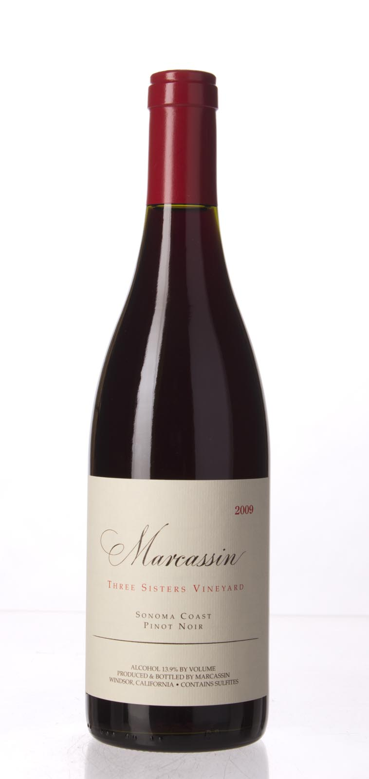 Marcassin Pinot Noir Three Sisters Vineyard 2009, 750ml (WA90) from The BPW - Merchants of rare and fine wines.