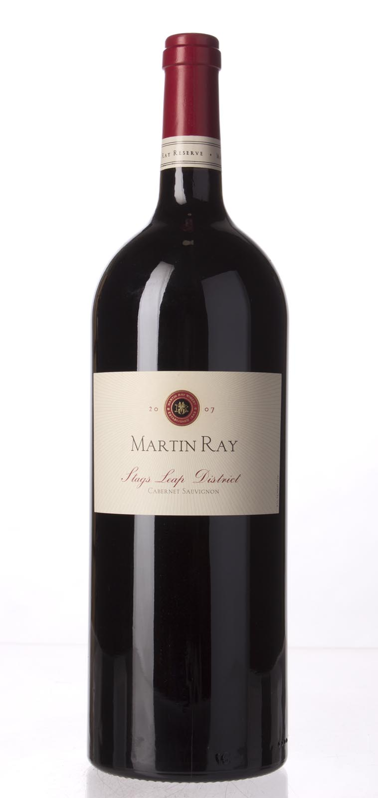 Martin Ray Winery Cabernet Sauvignon Stag`s Leap Reserve 2007, 1.5L () from The BPW - Merchants of rare and fine wines.