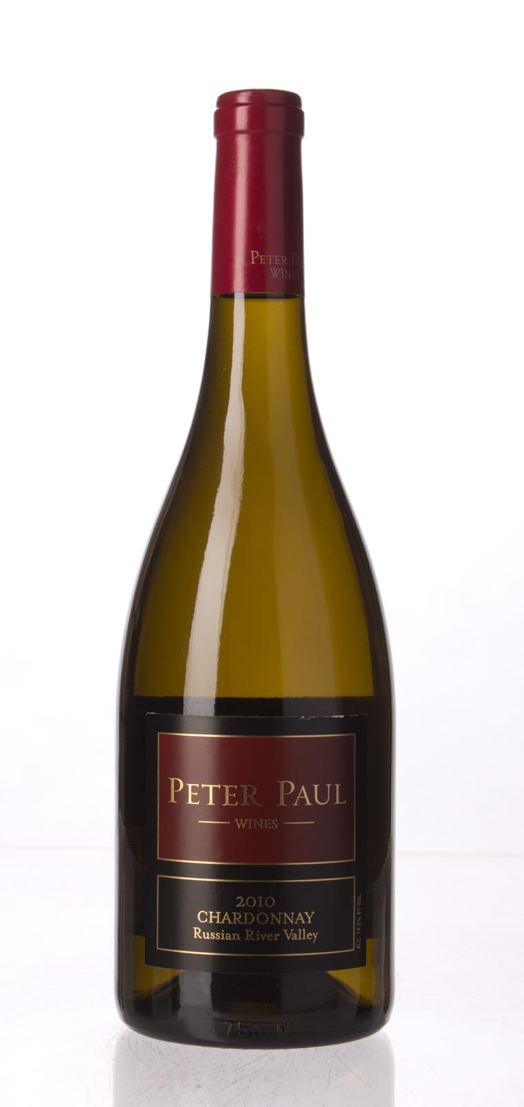 Peter Paul Chardonnay Russian River Valley 2010, 750mL () from The BPW - Merchants of rare and fine wines.
