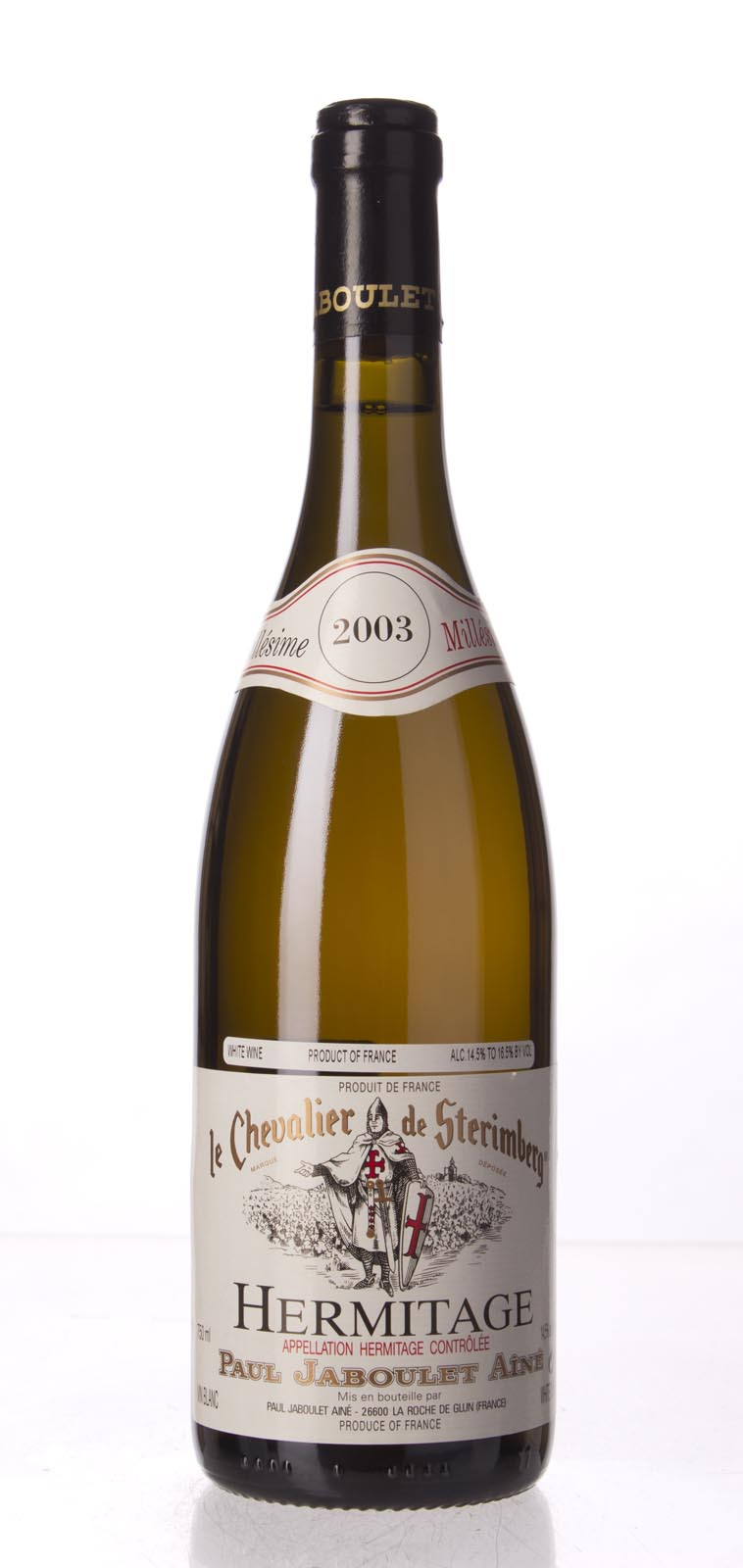 Paul Jaboulet Aine Hermitage Blanc Chevalier de Sterimberg 2003, 750mL (WA93, WS95) from The BPW - Merchants of rare and fine wines.