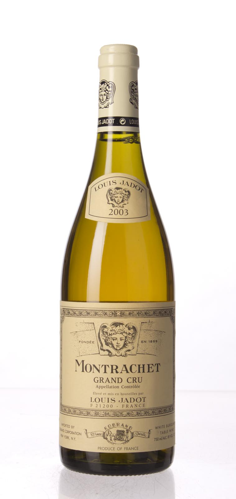 Louis Jadot Le Montrachet 2003, 750mL (WA95) from The BPW - Merchants of rare and fine wines.