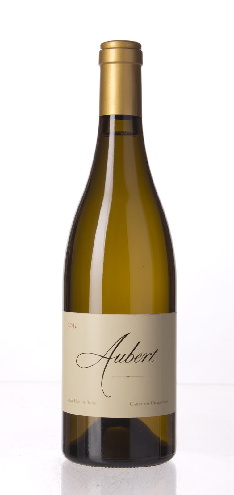 Aubert Chardonnay Larry Hyde and Sons 2012, 750mL (WA96-98) from The BPW - Merchants of rare and fine wines.