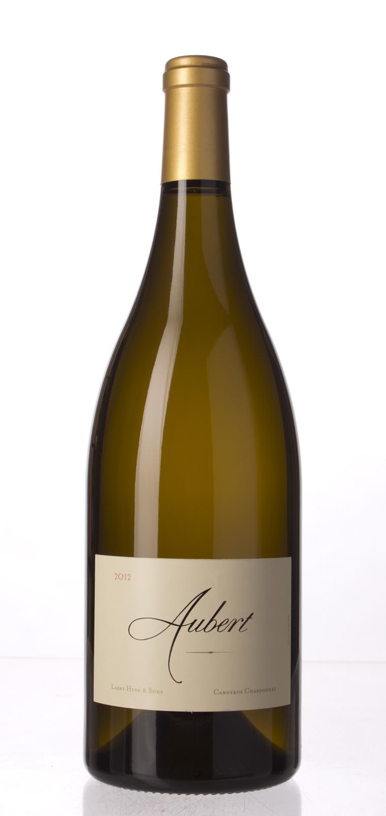 Aubert Chardonnay Larry Hyde and Sons 2012, 1.5L (WA96-98) from The BPW - Merchants of rare and fine wines.