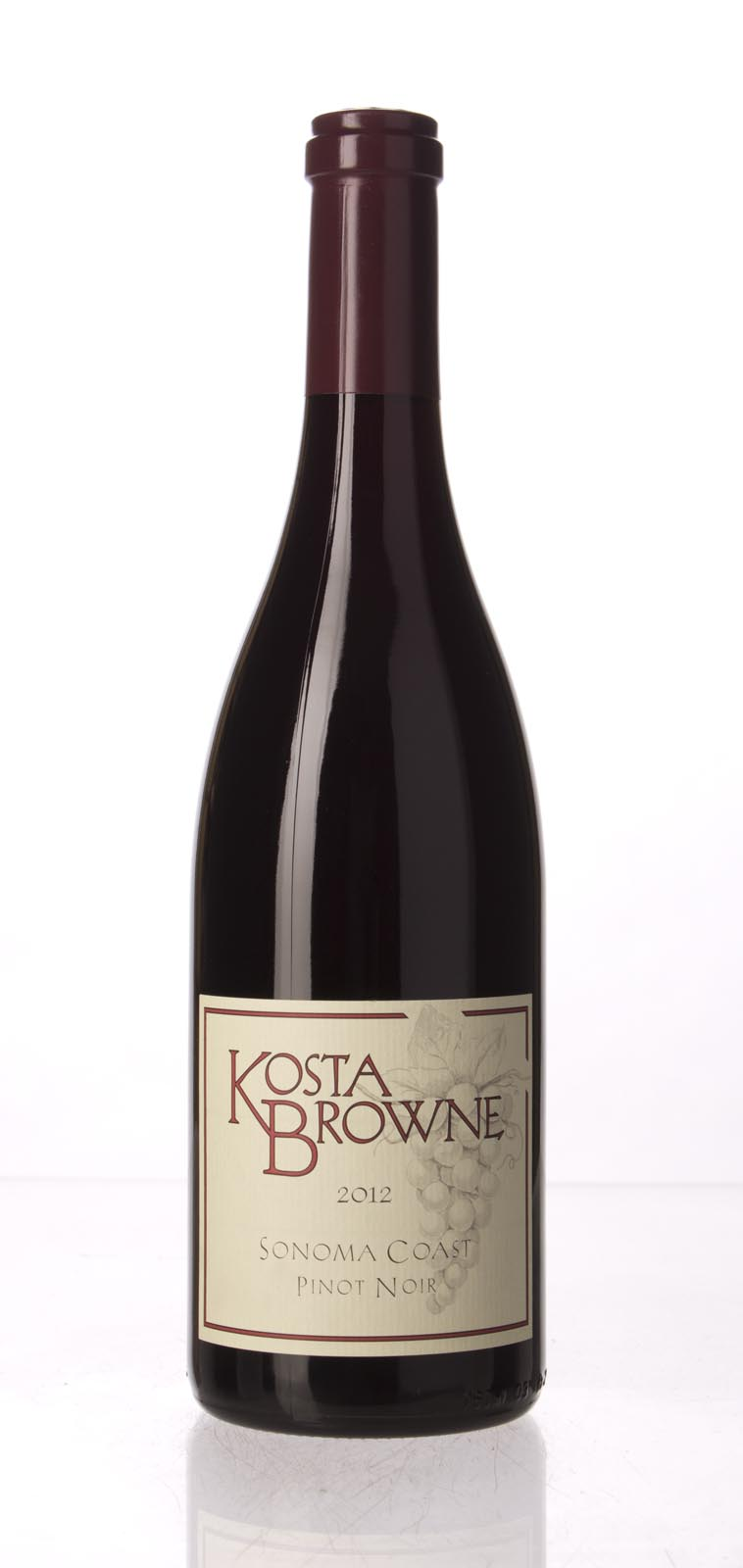 Kosta Browne Pinot Noir Sonoma Coast 2012, 750mL () from The BPW - Merchants of rare and fine wines.