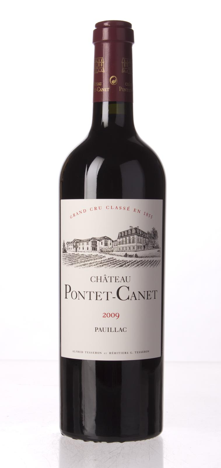 Pontet Canet 2009, 750mL (JS98, WA100) from The BPW - Merchants of rare and fine wines.