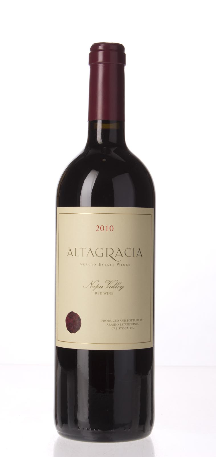 Araujo Estate Cabernet Sauvignon Altagracia 2010, 750mL (WA96) from The BPW - Merchants of rare and fine wines.