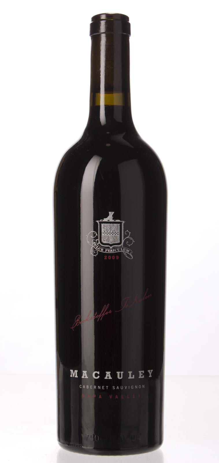Macauley Cabernet Sauvignon Oakville Beckstoffer To Kalon 2009, 750ml () from The BPW - Merchants of rare and fine wines.