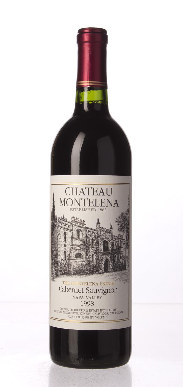 Chateau Montelena Cabernet Sauvignon Montelena Estate 1998, 750mL (WA93) from The BPW - Merchants of rare and fine wines.