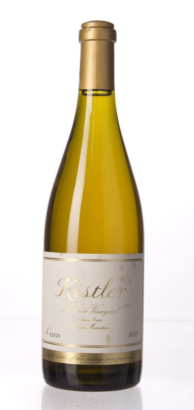 Kistler Chardonnay McCrea Vineyard 2002, 750mL (WA90-93) from The BPW - Merchants of rare and fine wines.