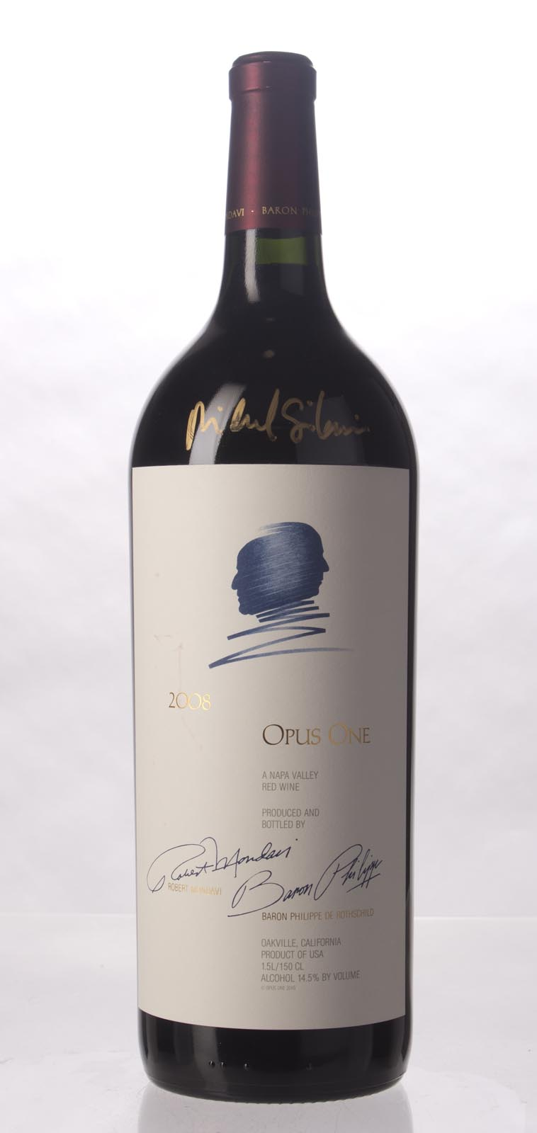 Opus One Proprietary Red Wine 2008, 1.5L (AG95, JS94, ST93) from The BPW - Merchants of rare and fine wines.