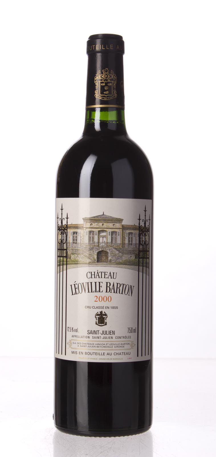 Leoville Barton 2000, 750mL (WA95+, WS97) from The BPW - Merchants of rare and fine wines.
