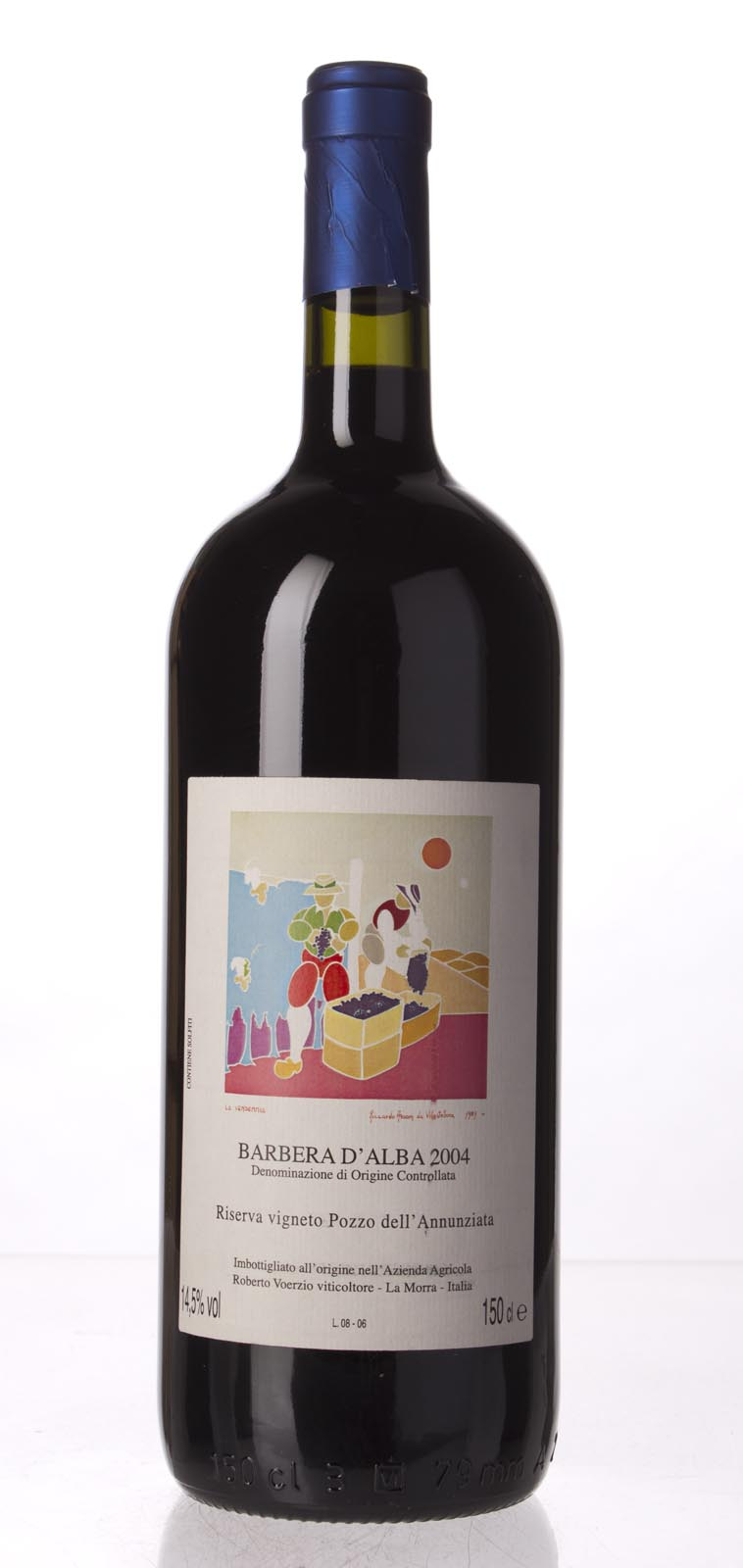 Roberto Voerzio Barbera d`Alba Riserva Vigneto Pozzo dell`Annunziata 2004, 1.5L (WA95) from The BPW - Merchants of rare and fine wines.