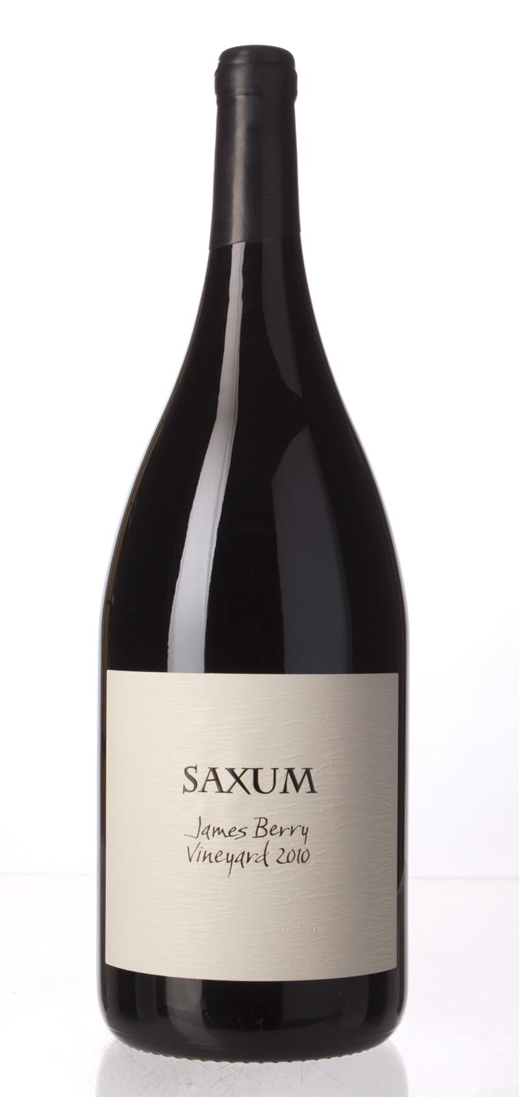 Saxum Proprietary Red James Berry Vineyard 2010, 1.5L (WA96+) from The BPW - Merchants of rare and fine wines.