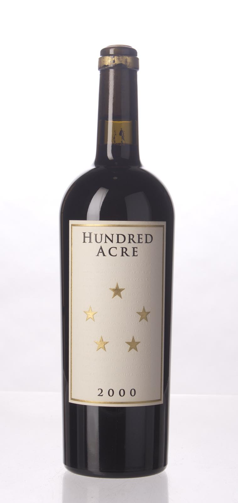 Hundred Acre Vineyard Cabernet Sauvignon Kayli Morgan Vineyard 2000, 750mL (WA96) from The BPW - Merchants of rare and fine wines.