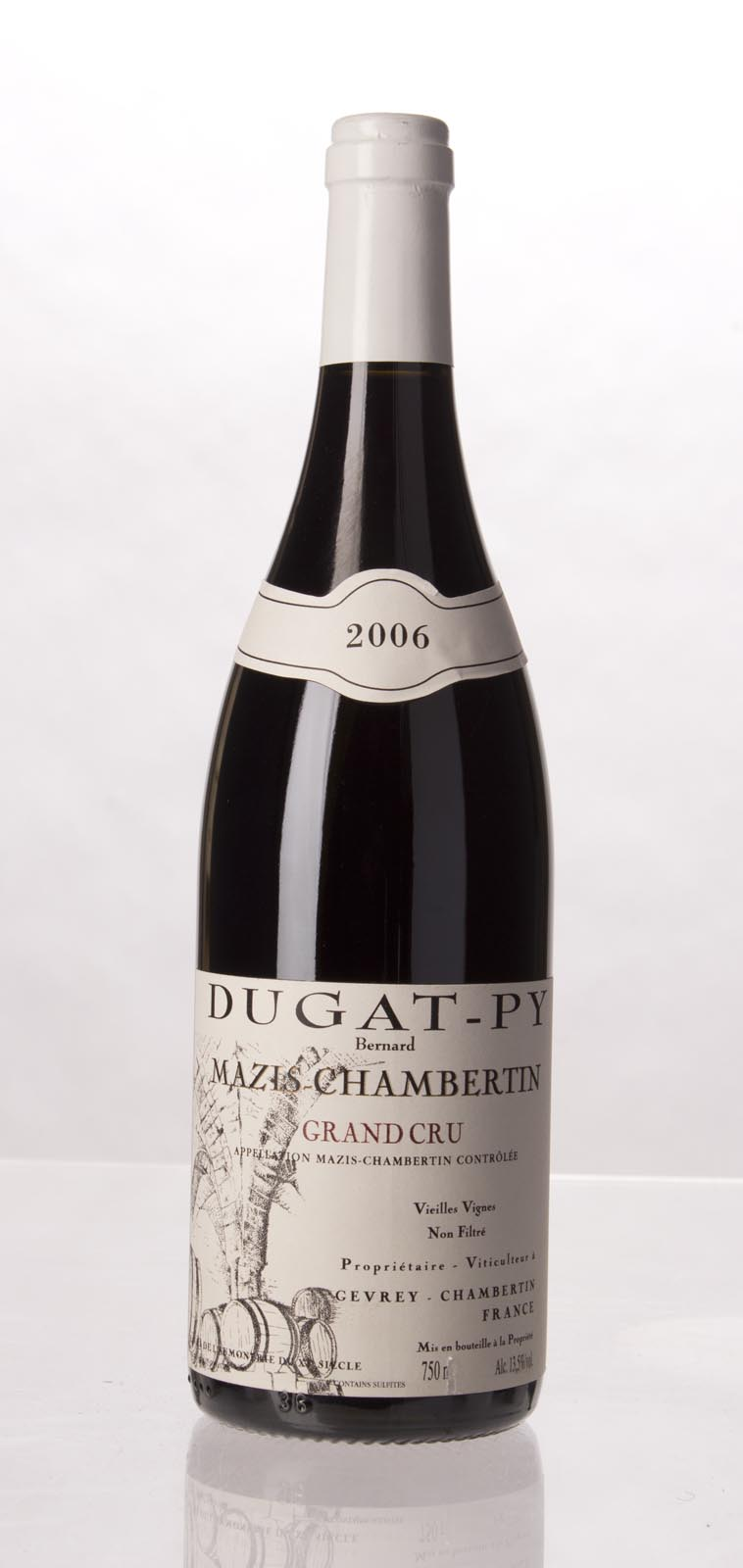 Domaine Dugat Py Mazis Chambertin 2006, 750ml (BH96) from The BPW - Merchants of rare and fine wines.