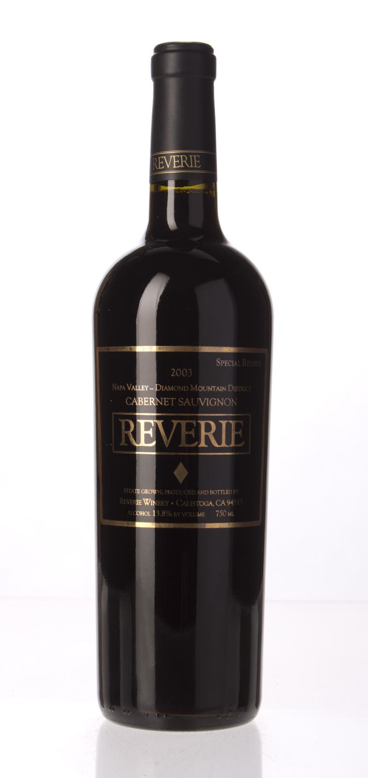 Reverie Proprietary Red Special Reserve Diamond Mountain 2003, 750mL (ST92) from The BPW - Merchants of rare and fine wines.