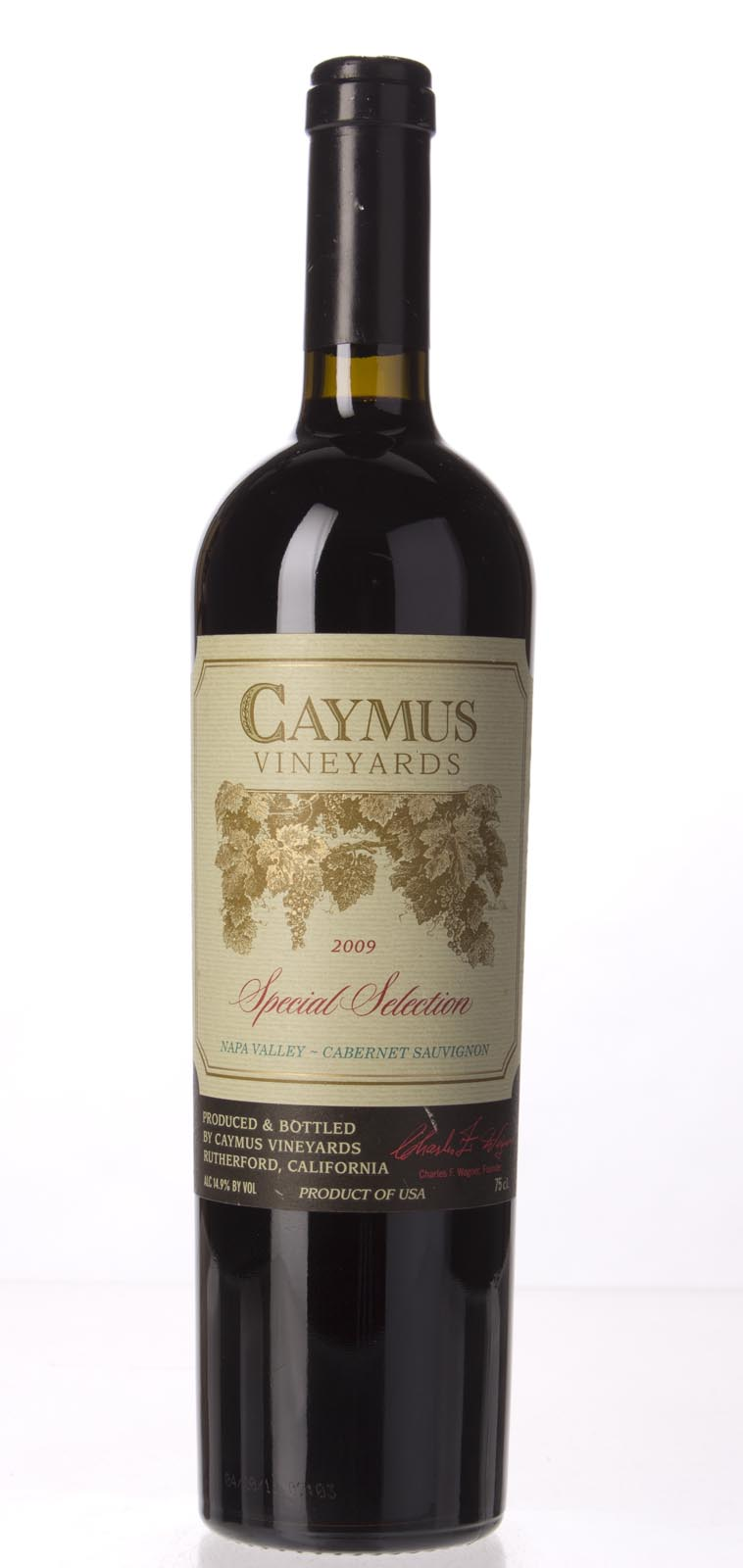 Caymus Cabernet Sauvignon Special Selection 2009, 750mL (WS93) from The BPW - Merchants of rare and fine wines.