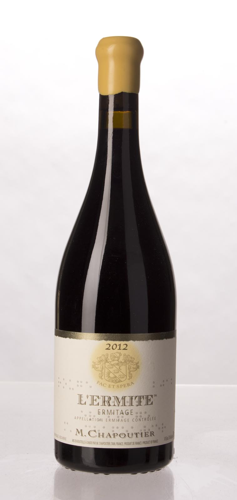 Chapoutier Ermitage l`Ermite 2012, 750mL (WA100) from The BPW - Merchants of rare and fine wines.