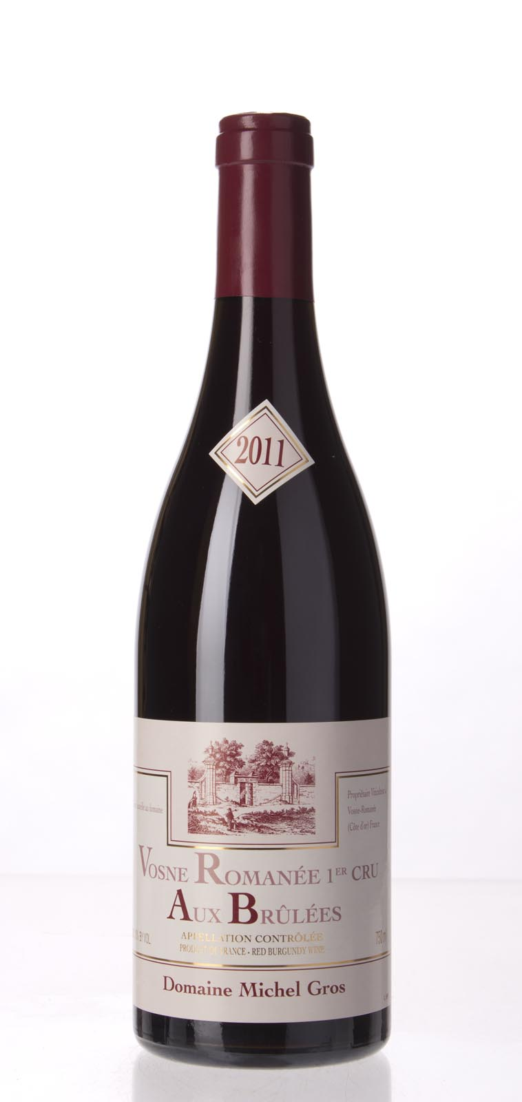Michel Gros Vosne Romanee les Brulees 2011,  (BH90-93) from The BPW - Merchants of rare and fine wines.