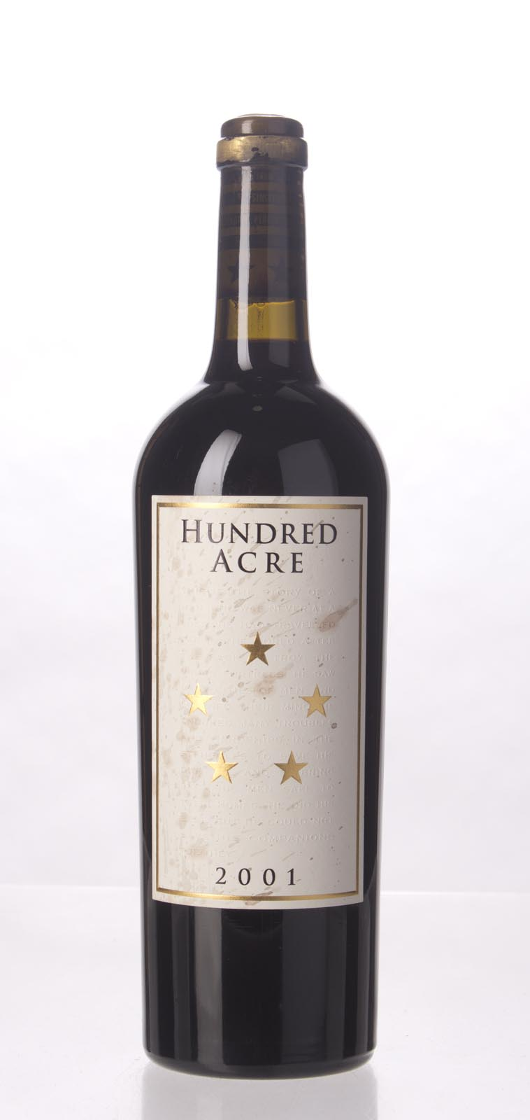 Hundred Acre Vineyard Cabernet Sauvignon Kayli Morgan Vineyard 2001, 750mL (WA98) from The BPW - Merchants of rare and fine wines.
