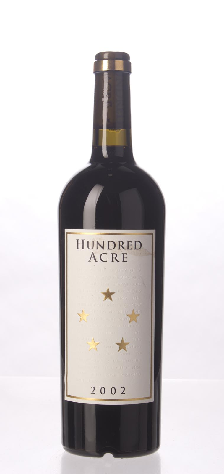 Hundred Acre Vineyard Cabernet Sauvignon Kayli Morgan Vineyard 2002, 750mL (WA100) from The BPW - Merchants of rare and fine wines.