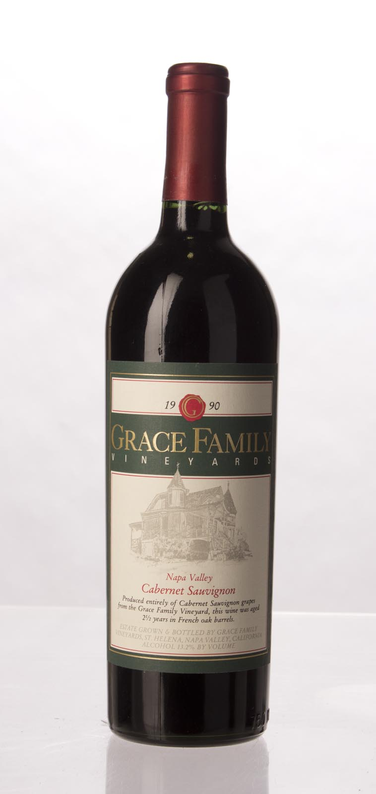 Grace Family Vineyard Cabernet Sauvignon 1990, 750mL (WS94) from The BPW - Merchants of rare and fine wines.
