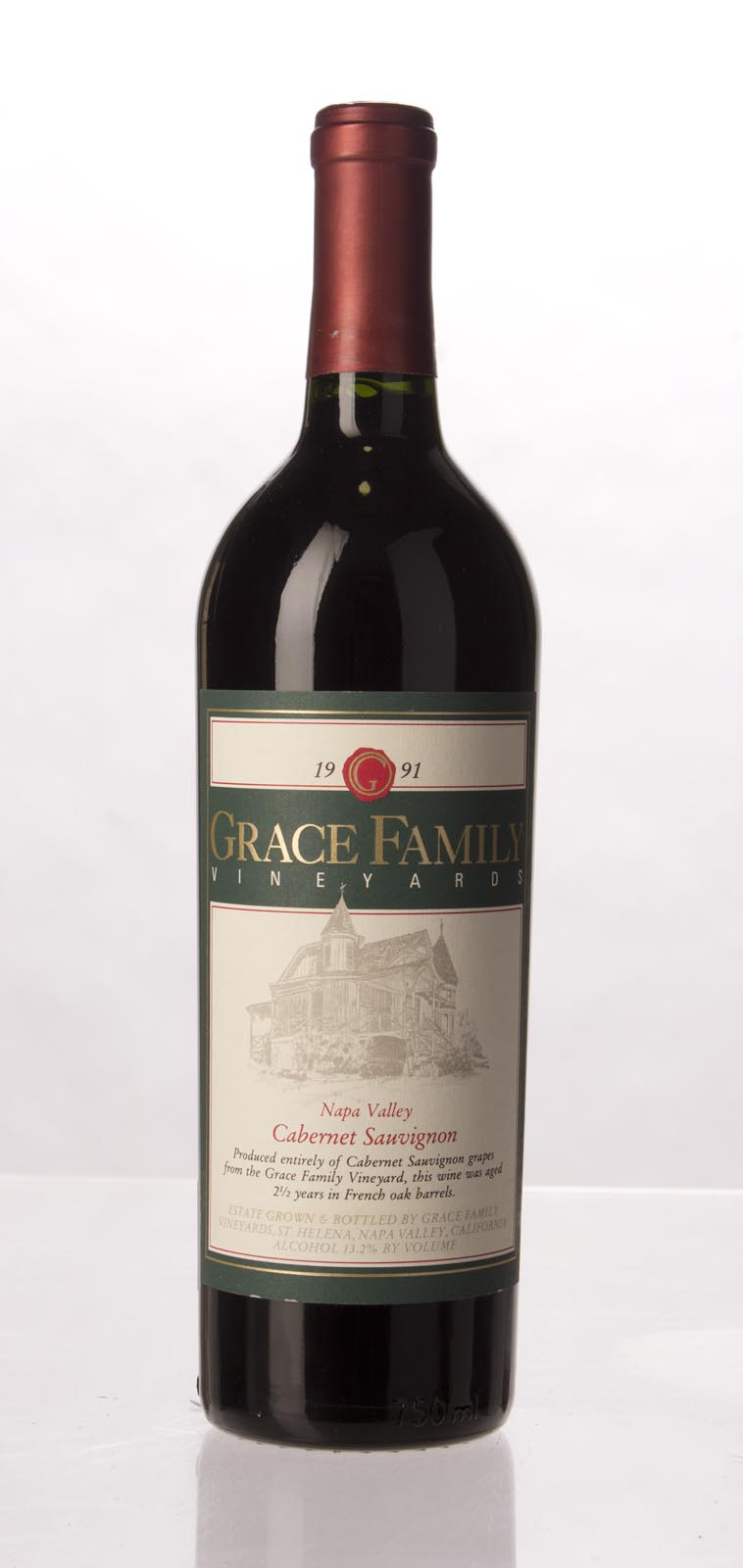 Grace Family Vineyard Cabernet Sauvignon 1991, 750mL (WA89) from The BPW - Merchants of rare and fine wines.