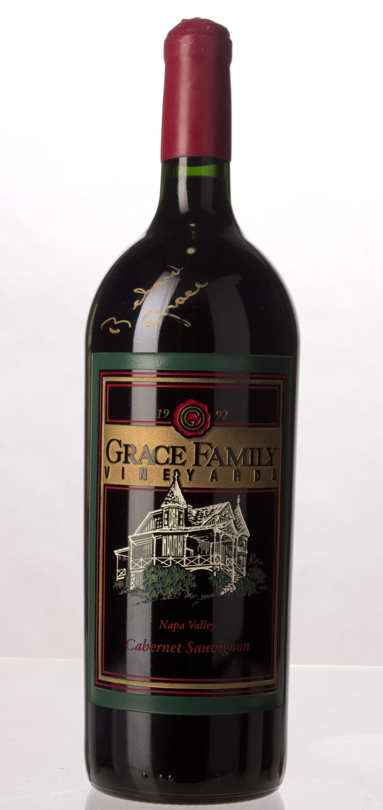 Grace Family Vineyard Cabernet Sauvignon 1992, 1.5L () from The BPW - Merchants of rare and fine wines.