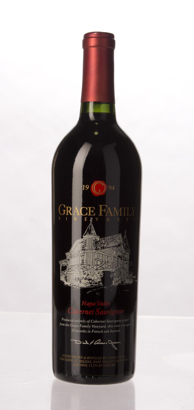 Grace Family Vineyard Cabernet Sauvignon 1994, 750mL (WA94, WS94) from The BPW - Merchants of rare and fine wines.