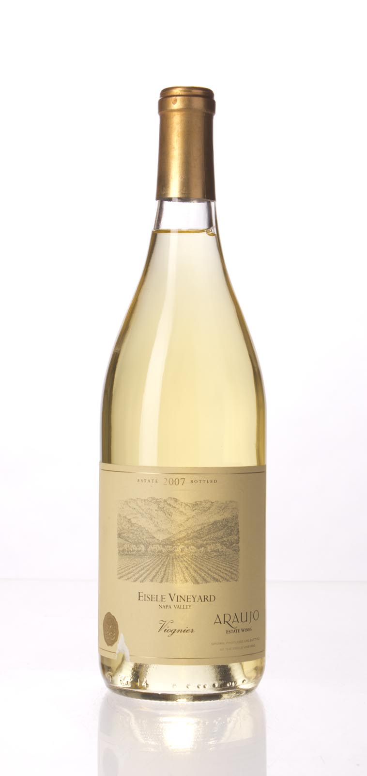 Araujo Estate Viognier Eisele Vineyard 2007, 750mL () from The BPW - Merchants of rare and fine wines.