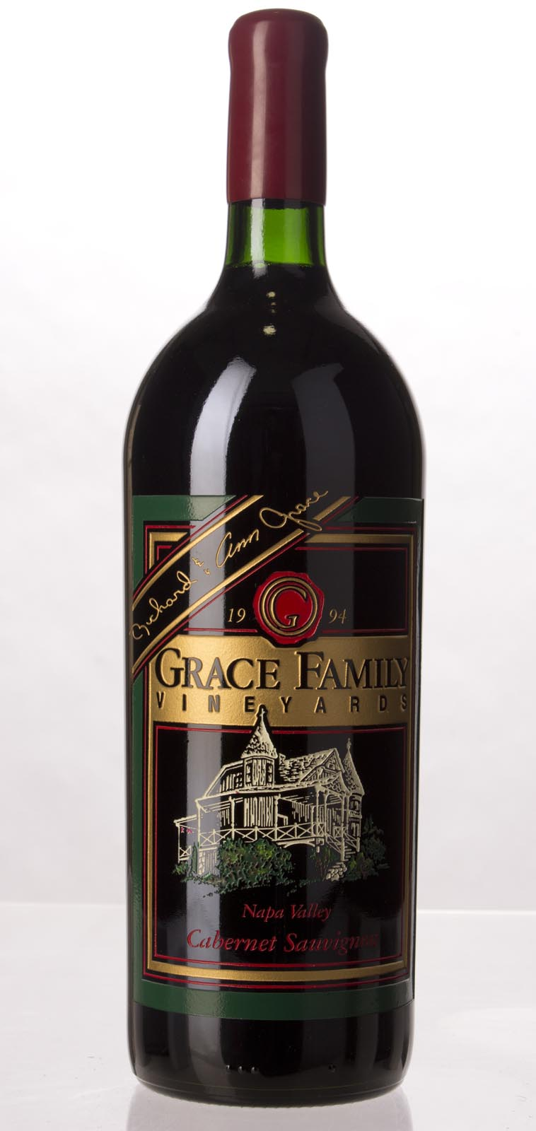 Grace Family Vineyard Cabernet Sauvignon 1994, 1.5L (WA94, WS94) from The BPW - Merchants of rare and fine wines.