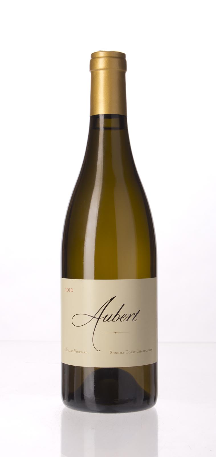 Aubert Chardonnay Reuling Vineyard 2010, 750mL (WS95) from The BPW - Merchants of rare and fine wines.