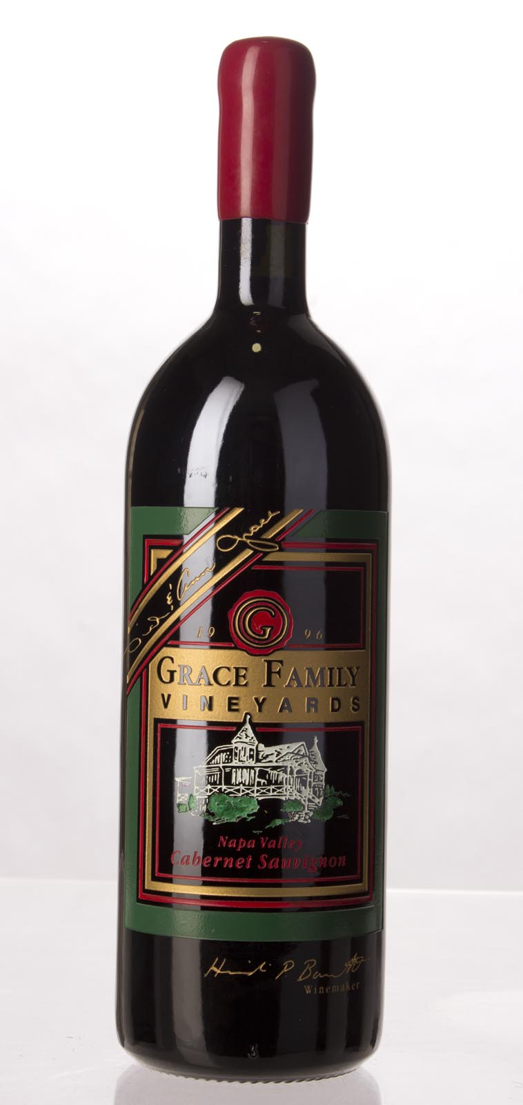 Grace Family Vineyard Cabernet Sauvignon 1996,  () from The BPW - Merchants of rare and fine wines.