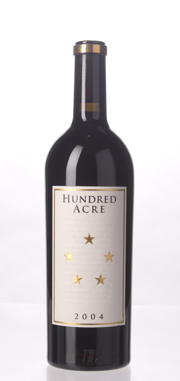 Hundred Acre Vineyard Cabernet Sauvignon Kayli Morgan Vineyard 2004, 750mL (WA98) from The BPW - Merchants of rare and fine wines.