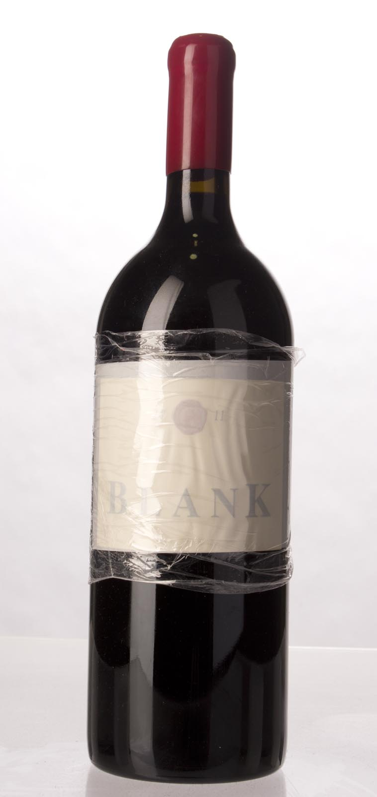 Blank Vineyard Cabernet Sauvignon Rutherford 2011, 1.5L (ST89-92) from The BPW - Merchants of rare and fine wines.