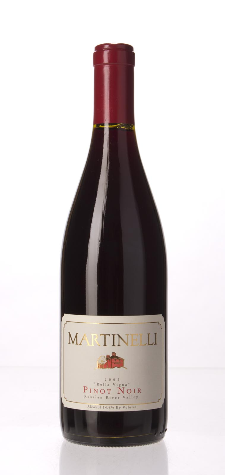 Martinelli Pinot Noir Bella Vigna 2002, 750mL () from The BPW - Merchants of rare and fine wines.