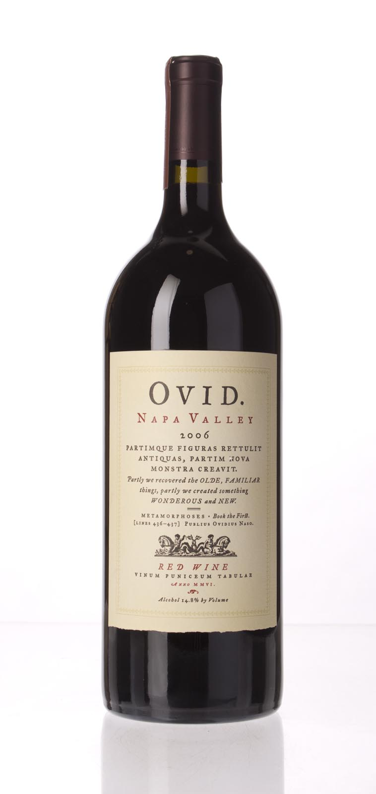 Ovid Winery Proprietary Red Napa Valley 2006, 1.5L (WA93, ST92, WS92) from The BPW - Merchants of rare and fine wines.